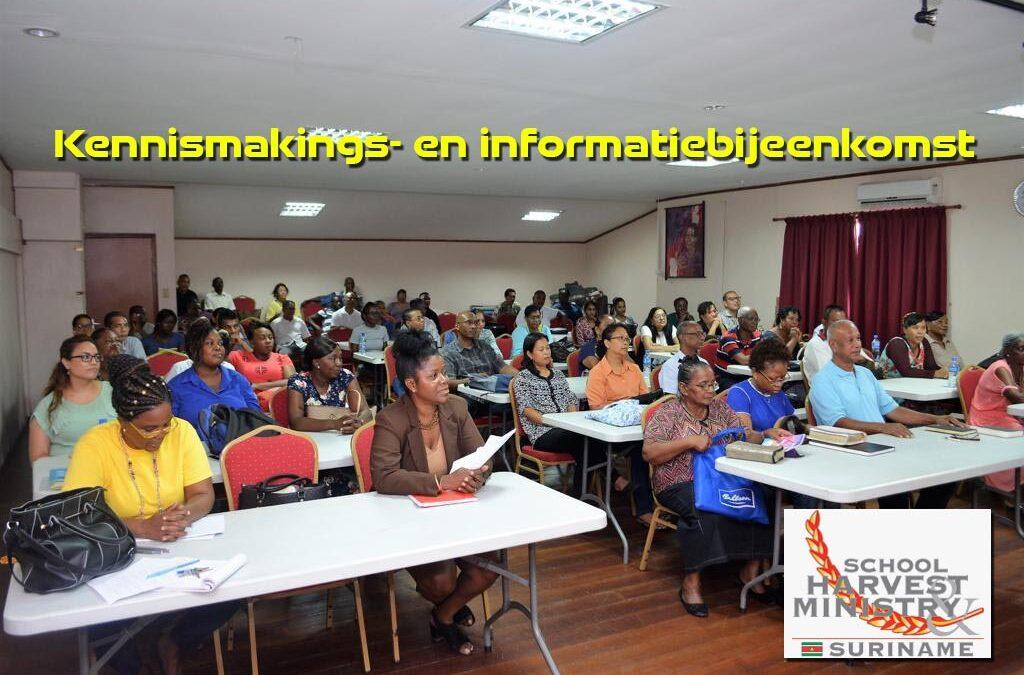 Bijbelschool organiseert kennismakings- en informatiebijeenkomst